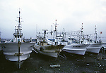 Fishing boats in the port town of Omma, onthe Northern most tip of Honshu, Japan. (Jim Bryant Photo)