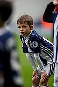 30th September 2017, The Hawthorns, West Bromwich, England; EPL Premier League football, West Bromwich Albion versus Watford; West Bromwich Albion young players warms-up prior to the match