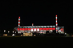 08.02.2019, RheinEnergieStadion, Koeln, GER, 2. FBL, 1.FC Koeln vs. FC St. Pauli,<br />  <br /> DFL regulations prohibit any use of photographs as image sequences and/or quasi-video<br /> <br /> im Bild / picture shows: <br /> Stadion bei Nacht mit Beleuchtung. <br /> <br /> Foto © nordphoto / Meuter
