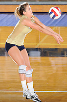 12 October 2008:  FIU outside hitter Yarimar Rosa (3) returns the ball in the FIU victory 3-0 (25-18, 25-17, 25-20) over North Texas at Panther Arena in Miami, Florida.