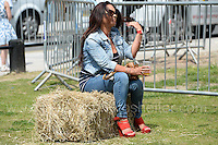 Visitors to the Merthyr Rising festival enjoying the entertainment and relaxing in the sunshine during the Merthyr Rising Festival 2016 in Merthyr Tydfil on Saturday June 4th and Sunday June 5th 2016. <br /> <br /> <br /> Jeff Thomas Photography -  www.jaypics.photoshelter.com - <br /> e-mail swansea1001@hotmail.co.uk -<br /> Mob: 07837 386244 -