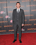 Luke Evans  attends the Relativity World Premiere of Immortals held at The Nokia Theater Live in Los Angeles, California on November 07,2011                                                                               © 2011 DVS / Hollywood Press Agency