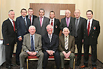James Maguire, Gerry McDermot, FAI, Andrew Matthews, John Maguire, Frank Hanlon, Ivor Cooney, Fran Gavin, FAI, Kevin Hurley, Joe Murphy, Jimmy Maguire and Peader Reynolds at the 25th Anniversary of Drogheda Boys FC....Photo NEWSFILE/Jenny Matthews.(Photo credit should read Jenny Matthews/NEWSFILE)....This Picture has been sent you under the condtions enclosed by:.Newsfile Ltd..The Studio,.Millmount Abbey,.Drogheda,.Co Meath..Ireland..Tel: +353(0)41-9871240.Fax: +353(0)41-9871260.GSM: +353(0)86-2500958.email: pictures@newsfile.ie.www.newsfile.ie.FTP: 193.120.102.198.