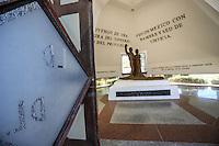 Mousoleo en homenaje a Luis Dondaldo Colosio en el pante&oacute;n de Magdalena Sonora, Mexico.<br /> (&copy;Foto: LuisGutierrrez/NortePhoto)