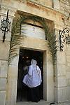 Israel, Mount Tabor, Transfiguration Day at St. Elias Greek Orthodox monastery