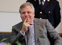 Insediamento del nuovo Questore di Napoli <br /> nella foto il capo squadra mobile Ferdinando Rossi