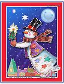 GIORDANO, CHRISTMAS SANTA, SNOWMAN, WEIHNACHTSMÄNNER, SCHNEEMÄNNER, PAPÁ NOEL, MUÑECOS DE NIEVE, paintings+++++,USGI2317M,#X#
