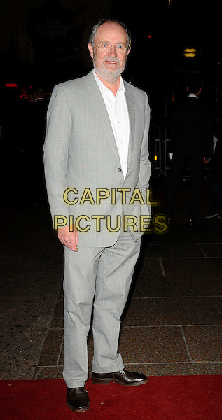 """JIM BROADBENT.World Premiere of """"The Damned United"""" at the Vue West End, Leicester Square, London, England..March 18th 2009.full length glasses grey gray beard facial hair suit white shirt .CAP/CAN.©Can Nguyen/Capital Pictures."""