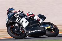 Josh Herrin at pre season winter test IRTA Moto3 & Moto2 at Ricardo Tormo circuit in Valencia (Spain), 11-12-13 February 2014