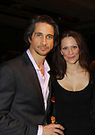 One Life To Live Michael Easton & wife Ginevra Arabia at 18th Annual Feast to benefit Center for Hearing and Communications (CHC) on October 24, 2011 at Chelsea Pier 60, New York City, New York.  (Photo by Sue Coflin/Max Photos)