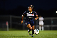 Sky Blue FC midfielder Taylor Lytle (6). Sky Blue FC defeated the Washington Spirit 1-0 during a National Women's Soccer League (NWSL) match at Yurcak Field in Piscataway, NJ, on August 3, 2013.