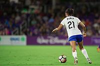 Orlando, FL - Saturday September 02, 2017: Margaret Purce during a regular season National Women's Soccer League (NWSL) match between the Orlando Pride and the Boston Breakers at Orlando City Stadium.