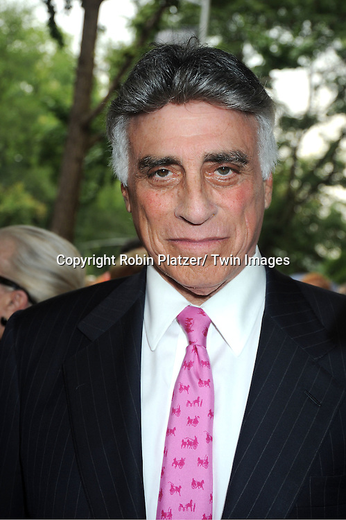 Andrew Stein attends Marvin Hamlisch's funeral on August 14, 2012 .at Temple Emanuel in New York City.