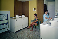 Singapore Motel Wildwood NJ, laundry room.