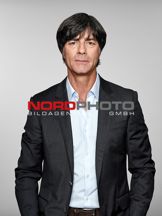 ST. MARTIN IN PASSEIER, ITALY - MAY 24:  4: In this handout image provided by German Football Association (DFB) head coach Joachim Loew of team Germany poses for a picture on May 24, 2014 in St. Martin in Passeier, Italy.   Foto © nph / Hangout  *** Local Caption *** Joachim Loew