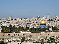 Jerusalem and the Dome of the Rock<br />