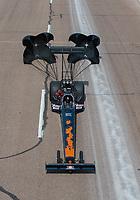 Feb 24, 2019; Chandler, AZ, USA; NHRA top fuel driver Terry Totten during the Arizona Nationals at Wild Horse Pass Motorsports Park. Mandatory Credit: Mark J. Rebilas-USA TODAY Sports