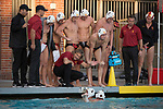 LOS ANGELES, CA - DECEMBER 03:  Head coach Jovan Vavic of the University of Southern California instructs his team during the Division I Men's Water Polo Championship held at the Uytengsu Aquatics Center on the University of Southern California campus on December 3, 2017 in Los Angeles, California. UCLA defeated USC 5-7 to win the National Championship. (Photo by Justin Tafoya/NCAA Photos via Getty Images)