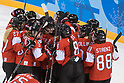 PyeongChang 2018: Ice Hockey: Women's Group B: Switzerland - Japan