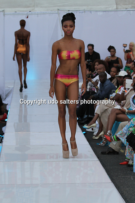 Bikini Under The Bridge 2013 Fashion Show Hosted by Eunice Quinones, Held in BAM Parking Lot, Brooklyn NY