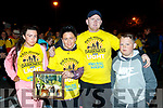 Jacinta, Margaret, Jason and John Paul O'Brien, Castleisland, who took part in the Darkness Into Light walk, Tralee, on Saturday last.