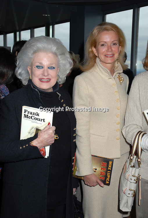 """Jean Beard and daughter Blaine Trump  ..at the 3rd Annual  God's Love We Deliver """"Authors in Kind""""..Luncheon with guest authors Maureen Dowd,  Mike Lupica..and Frank McCourt on April 4, 2006 at The Rainbow Room. ..Robin Platzer, Twin Images"""