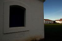A Fortaleza de São José de Macapá,  foi construída durante o império português entre 1764 e 1782. A intenção dos portugueses era garantir a soberania da região no extremo Norte do país, durante o período das colonizações. O ponto turístico é considerado uma das maiores fortificações militares da América Latina, a qual contribuiu para o surgimento do primeiro povoado da cidade, a vila de São José de Macapá, hoje capital do Amapá.<br /> <br /> Macapá, Amapá, Brasil.18/06/2011.Foto Paulo Santos