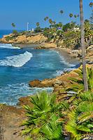 Laguna Beach; Ca, Heisler Park Beach, seaside; resort;