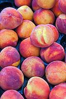 Fresh Fruit, Peaches, Produce, Farmers Market, Urban, Farm-fresh produce, fruits