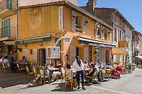 France, Provence-Alpes-Côte d'Azur, Saint-Tropez: restaurant Le Schpountz in old town | Frankreich, Provence-Alpes-Côte d'Azur, Saint-Tropez: Restaurant Le Schpountz in der Altstadt