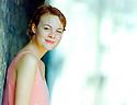 Helen McCrory British  Theatre and Film actress at The Edinburgh International Film Festival in 1995. CREDIT Geraint Lewis