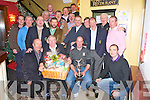 Members of the Murphys Bar Golf Society, Killarney pictured at the presentation of prizes from their Christmas Hamper competition on Saturday.