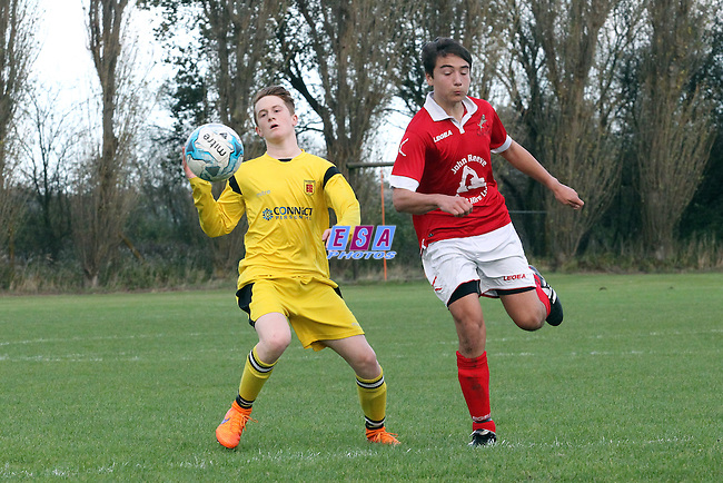 RAMSGATE v FAVERSHAM TOWN<br /> KENT YOUTH LEAGUE<br /> U15 SOUTH<br /> SUNDAY 15TH NOVEMBER 2015<br /> BAY POINT CLUB