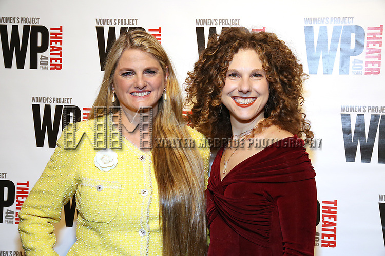 Bonnie Comley and Ellie Heyman attends the WP Theater's 40th Anniversary Gala -  Women of Achievement Awards at the Edison Hotel on April 15, 2019  in New York City.