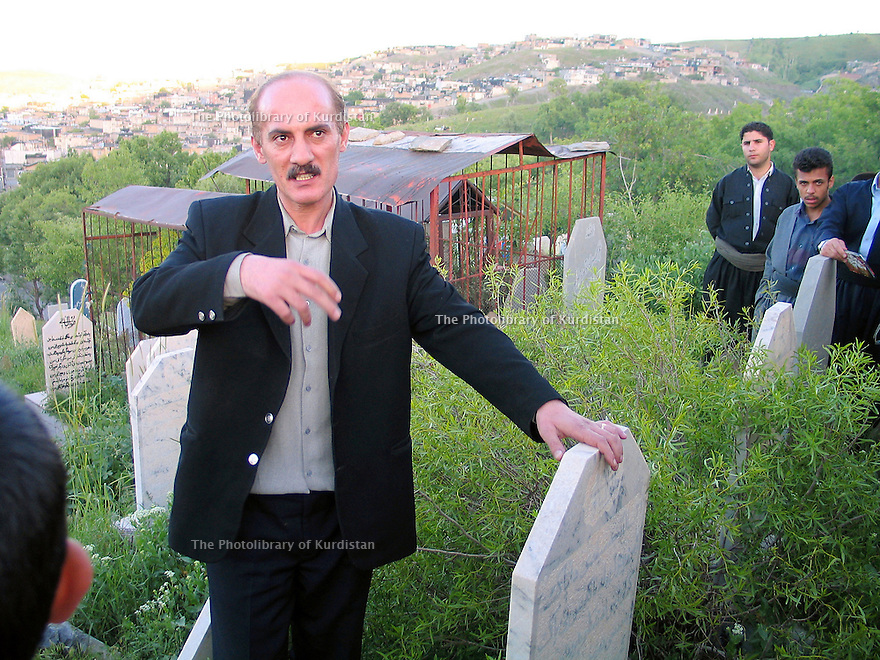 Iran 2004.A Sardacht, ville bombardée chimiquement par les Irakiens, témoignages des habitants.Iran 2004.In Sardacht, Kurdish town, bombed with chemical weapons by the Iraqis, the victims' testimonies