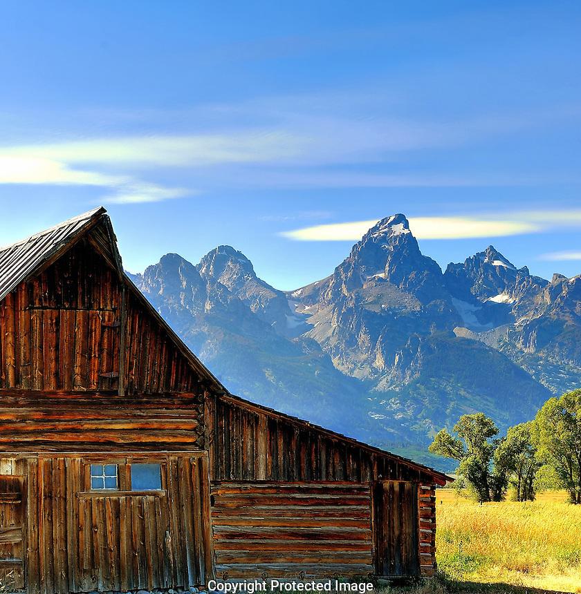 Moulton Barn, Mormon Row - Grand Teton National Park