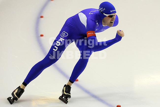 HEERENVEEN - Schaatsen, EK  kwalificatie heren 1500 meter, 27-12-2011, Robbert de Rijk