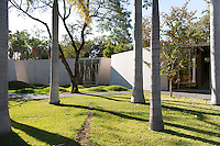 Auditorium and learning center in the Botanical Gardens (Jardines Botanicos) by Architect Tatiana Bilbao, Culiacan, Sinaloa, Mexico