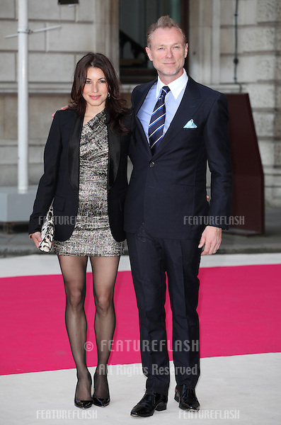 Lauren and Gary Kemp arriving for the Royal Academy of Arts Summer Exhibition Party, at the Royal Academy of Arts, London. 30/05/2012 Picture by: Alexandra Glen / Featureflash