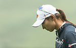 Min Sun Kim of South Korea at the 13th hole during Round 4 of the World Ladies Championship 2016 on 13 March 2016 at Mission Hills Olazabal Golf Course in Dongguan, China. Photo by Victor Fraile / Power Sport Images