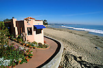 CA: Beach houses at Aptos, near Santa Cruz   .Photo: cabea2104..Photo copyright: Lee Foster, 510-549-2202, lee@fostertravel.com, www.fostertravel.com