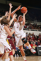 STANFORD, CA - JANUARY 28:  Jayne Appel of the Stanford Cardinal during Stanford's 71-48 win over ASU on January 28, 2010 at Maples Pavilion in Stanford, California.