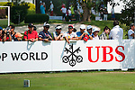 UBS Hong Kong Open golf tournament at the Fanling golf course on 22 October 2015 in Hong Kong, China. Photo by Xaume Olleros / Power Sport Images