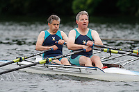 MasE.2x Heat -  Berks: 226 City of Swansea RC -  Bucks: 227 Lymington ARC<br /> <br /> Friday - Henley Masters Regatta 2016<br /> <br /> To purchase this photo, or to see pricing information for Prints and Downloads, click the blue 'Add to Cart' button at the top-right of the page.
