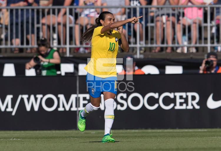 Marta, RaquelEast Hartford, CT - July 29, 2018: Brazil defeated Japan 2-1 during the Tournament of Nations at Pratt & Whitney Stadium.