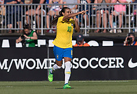 Marta, RaquelEast Hartford, CT - July 29, 2018: Brazil defeated Japan 2-1 during the Tournament of Nations at Pratt & Whitney Stadium.