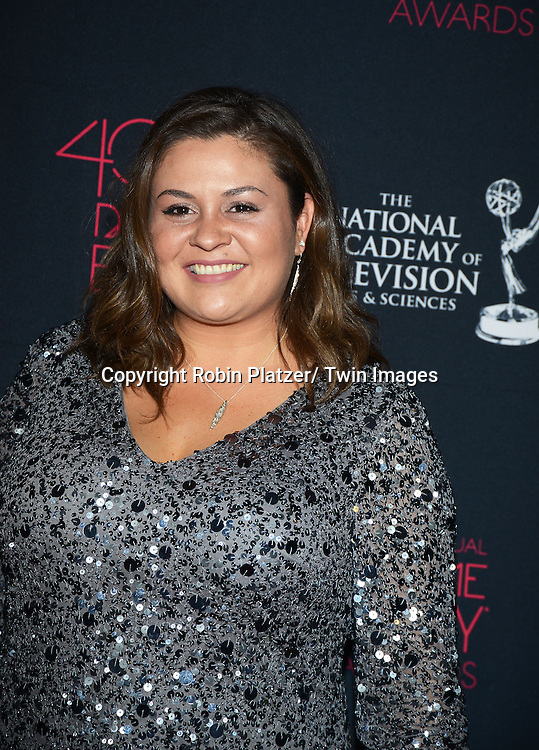 Angelica McDaniel attends the 40th Annual Daytime Creative Arts Emmy Awards on June 14, 2013 at the Westin Bonaventure Hotel in Los Angeles, California.