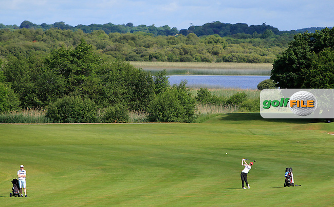 Liam Power (Galway) on the 12th during Round 3 of the 2016 Connacht Strokeplay Championship at Athlone Golf Club on Sunday 12th June 2016.<br />