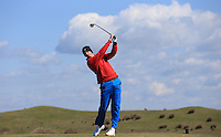 Matt Kippen during Round Two of the West of England Championship 2016, at Royal North Devon Golf Club, Westward Ho!, Devon  23/04/2016. Picture: Golffile | David Lloyd<br /> <br /> All photos usage must carry mandatory copyright credit (&copy; Golffile | David Lloyd)