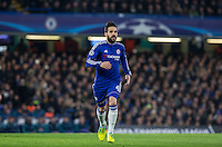 Cesc Fabregas of Chelsea during the UEFA Champions League Round of 16 2nd leg match between Chelsea and PSG at Stamford Bridge, London, England on 9 March 2016. Photo by Andy Rowland.